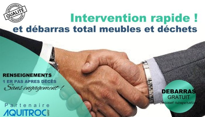 Intervention debarras logement rapide