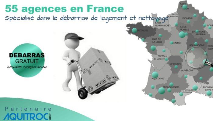 55 agence débarras de maison en France